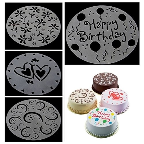 Killer Barbie Halloween Costume (JD Million shop 4pcs 8 Inch Round Cake Mould Mold Chocolate Cake Decorating Tool Handmade Diy Baking Tools Silicone Soap Mold Dropship)