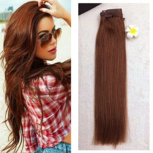 full-shine-8-pieces-18-inch-120g-seamless-auburn-hair-extensions-human-hair-full-head-clip-hair-exte