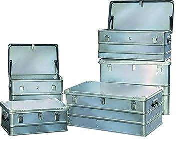 Aluminio caja de herramientas cajón de metal ligero de aluminio 59 maletín de herramientas luz: Amazon.es: Bricolaje y herramientas