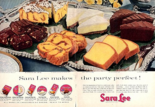 sara-lee-makes-the-party-perfect-ad-1958-brownies-coffee-cake-cheesecake