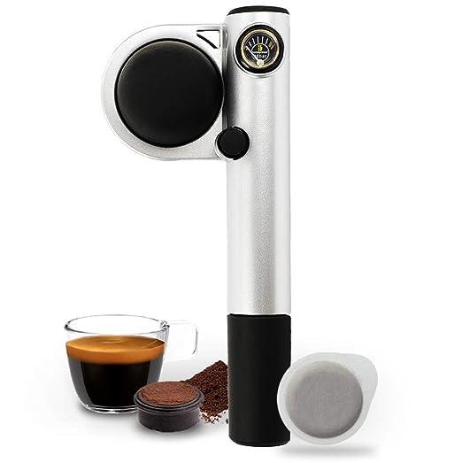 Handpresso Pump Plateada 48256 Cafetera espresso portátil e manual ...