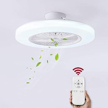 Deckenventilator Klimagerät Wohnzimmer Deckenlampe Deckenleuchte Fernbedienung