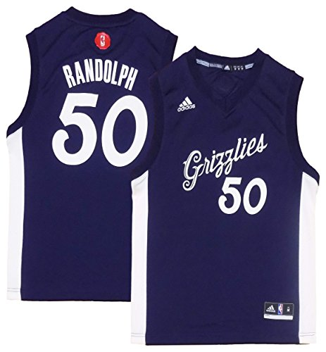 (Zach Randolph Memphis Grizzlies #50 Navy Blue Youth X-Mas Replica Jersey (Large 14/16))
