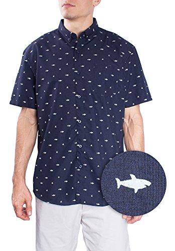 Navy Aloha Shirt - 9