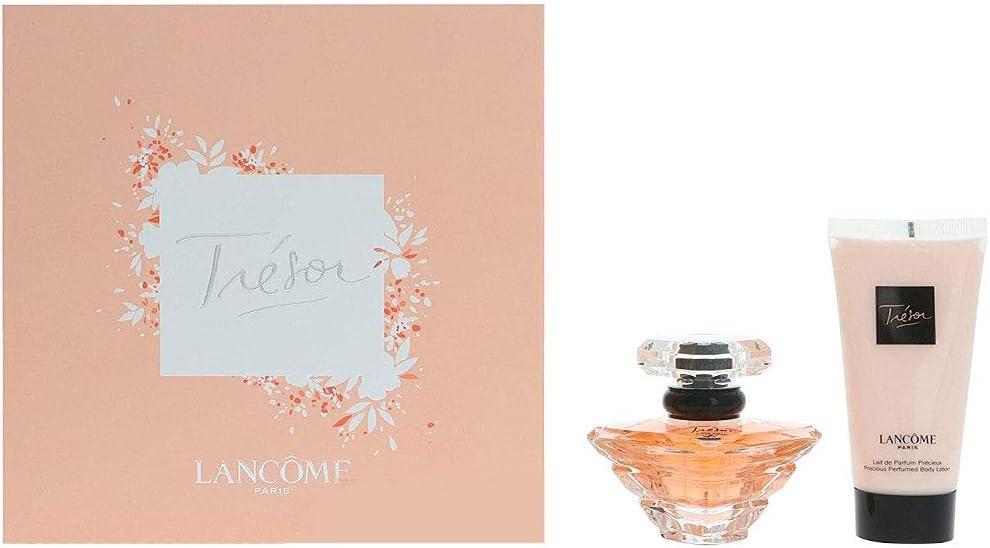 Lancome Tresor Giftset edp Spray 30 ml, loción corporal 50 ml: Amazon.es: Belleza