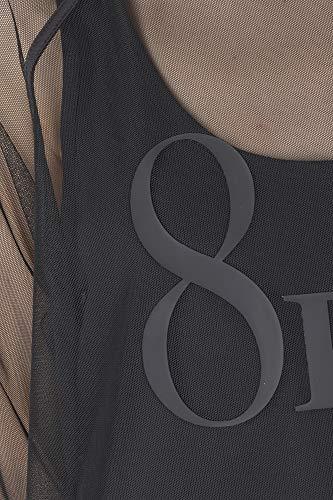 Couleur Becke Noir 8pm Primavera Dp8pm91m09 2019 estate Chemise Femme UzwqtI