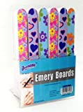 Lot of 48 7″ Emery Boards Nail Files on Counter Display Retail Ready For Sale