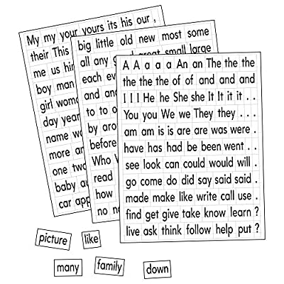 Educational Insights Magnetic Sight Words and Sentence Builders: Toys & Games