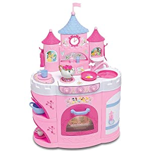 Little Girls Princess Bed Playset