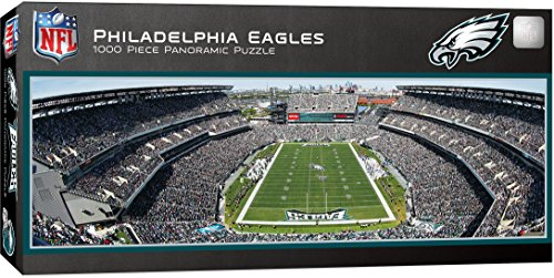 MasterPieces NFL Philadelphia Eagles 1000 Piece Stadium Panoramic Jigsaw Puzzle