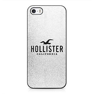 Funda para LOGO Hollister Series iPhone 5 5s Case Negro iPhone 5 5s funda UIWEJDFGJ5389