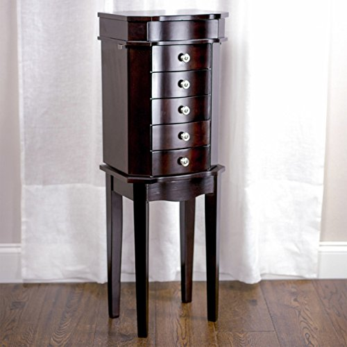 Hives & Honey Meg Espresso Jewelry Armoire by Hives and Honey (Image #1)