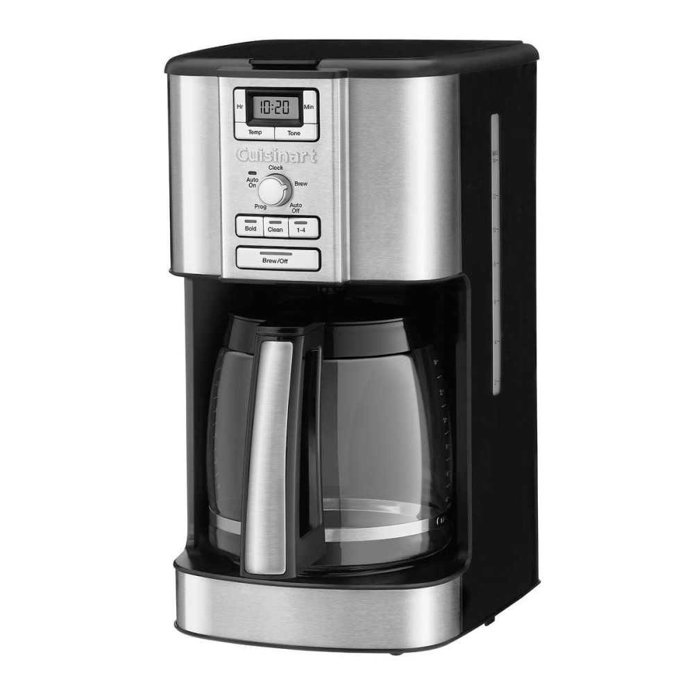 Cuisinart Programmable Coffeemaker With 14-Cup Glass Carafe, Stainless Accented Handle