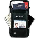 Travel Wallet-Passport Holder-Anti-Theft-Neck Pouch-RFID Blocking-For Men and Women
