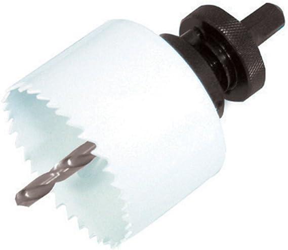 Silverline 595759 Plumbers Bi-Metal Holesaw Kit 9pc 19-57mm Dia