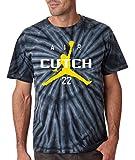 """Silo Shirts TIE DIE Black Mccutchen """"Air Cutch"""" T-Shirt"""