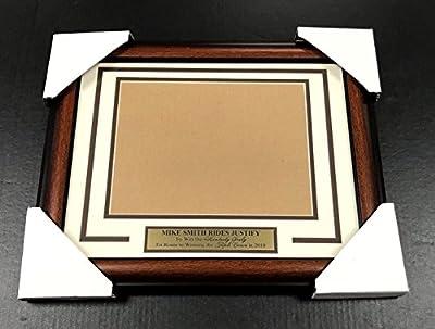 Mike Smith Justify Kentucky Derby Triple Crown Frame Kit 8x10 Horizontal Photo