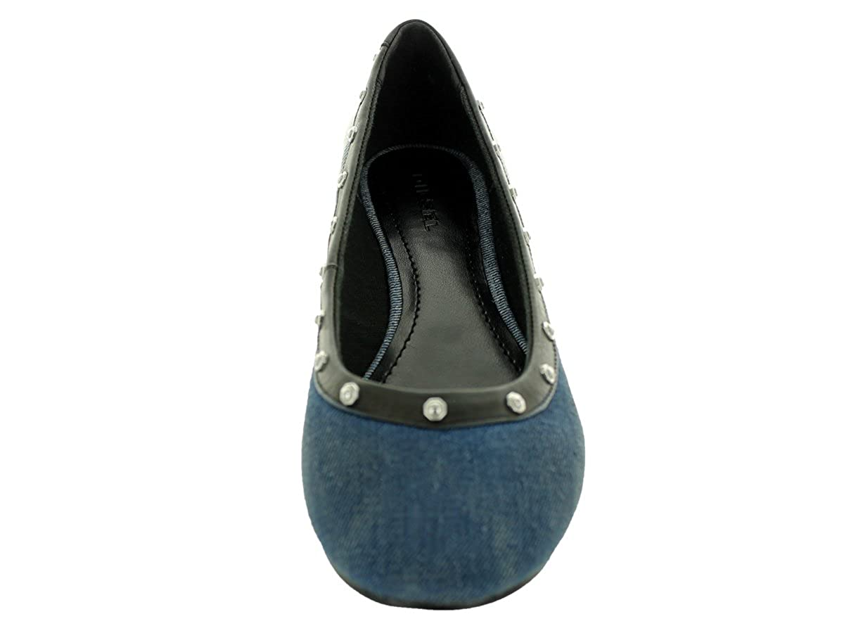 Diesel Damen Ballerina Slipper Jeans Iron Indigo We-Men SMERALDHA Indigo Iron e6229f