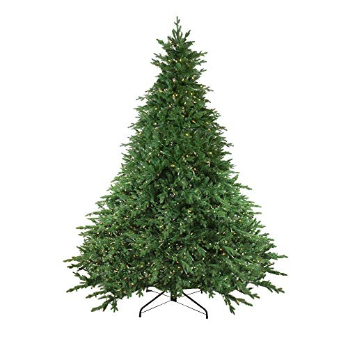 - Northlight 12' Pre-Lit LED Instant Connect Minnesota Balsam Fir Artificial Christmas Tree