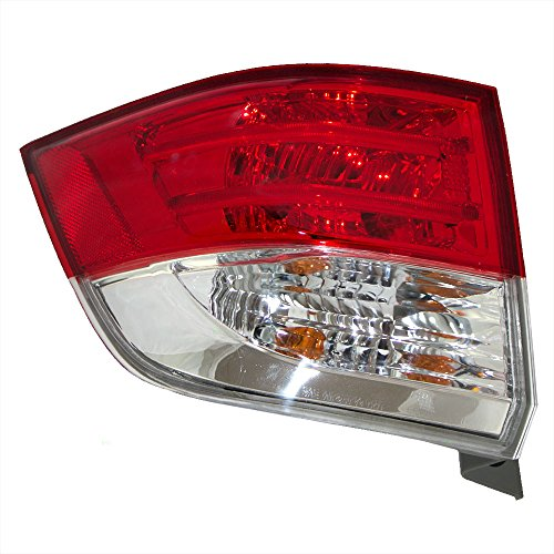 Drivers Taillight Tail Lamp Quarter Panel Mounted Lens Replacement for Honda Van 33550-TK8-A11 ()