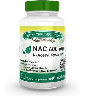HSN RAW - N-Acetil Cisteína - NAC - Antioxidante - Aumenta los ...