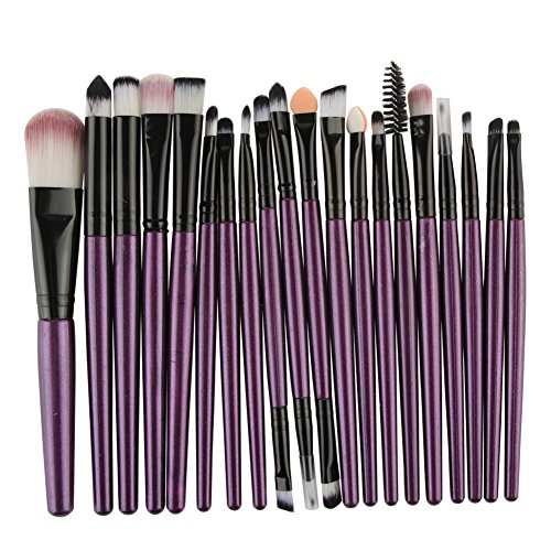 20 piece set of cosmetic brushes by Jay Boom