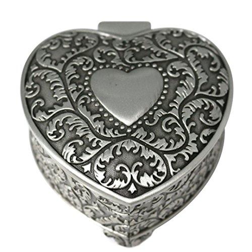 Heart Shape Trinket Box - 2