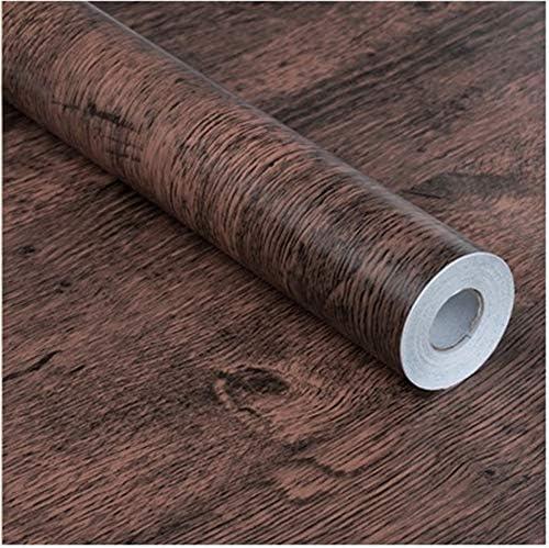 トドアステッカー 木目調ステッカー くるみ ブラウンメープル 壁紙シール 自粘着性 壁 家具 論文 木地 デコレーション(0.45mx10m)