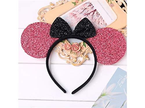 Good Cartoon a Headband Animal Ear Hairband Cute Headdress Decoration Christmas Lovke Christmas Party Pink 7xwgHREdqW