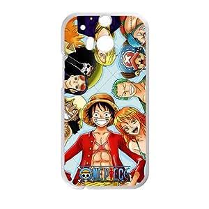 One Piece White HTC M8 case