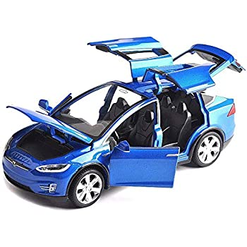 RED Years Old SASBSC Model S Toy car Alloy Model Cars Pull Back Toy Cars for 3