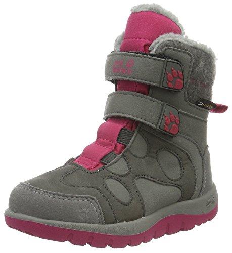 Jack Wolfskin Mädchen Providence Texapore High VC G Trekking-& Wanderstiefel, Pink (Azalea Red 2081), 32 EU