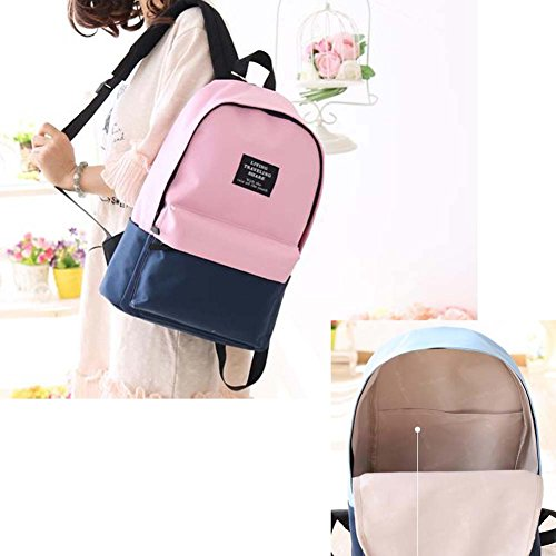 Fashion Student Bag Casual Canvas Rucksack Kleine Fresh Travel Rucksack_A10