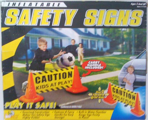gn - Caution, Kids At Play! (Inflatable Safety Signs)