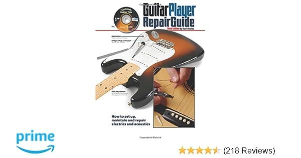 the guitar player repair guide 3rd dan erlewine 9780879309213 rh amazon com Aztex Jersey Aztex for Flower Bed