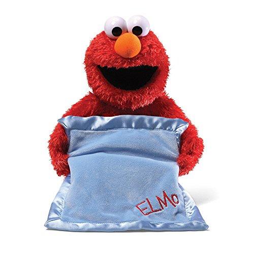 GUND Sesame Street Peek A Boo Elmo Animated 15