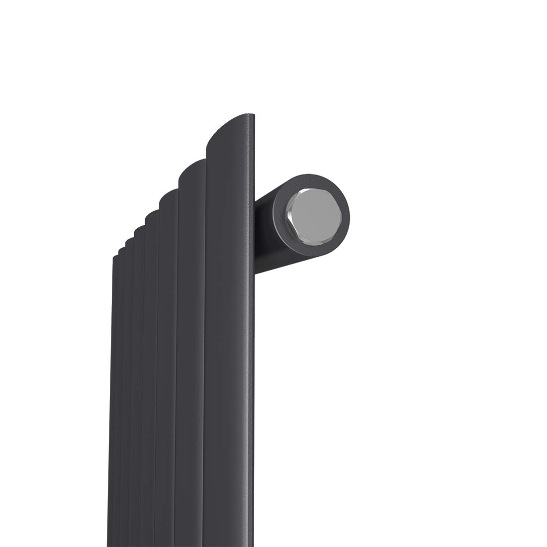 Vertikal Heizk/örper Design Paneelheizk/örper 1800x460mm Wei/ß Einlagig Mittelanschluss Heizung