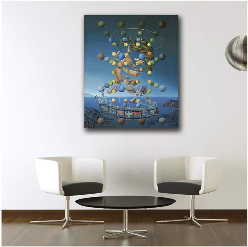 Salvador Dali de las esferas Pintura Arte de la pared Pinturas Cuadro Paiting Lienzo Pinturas Decoración para el hogar Impresión Pintura-50x80cm Sin marco
