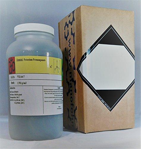 Potassium Permanganate 3 pounds, Manofohm, READ (Potassium Permanganate Glycerin)