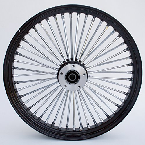 Black Chrome Harley Wheels - 8
