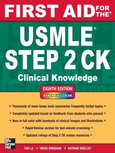 First Aid for the USMLE Step 2 CK, Eighth Edition (First Aid USMLE) Pdf