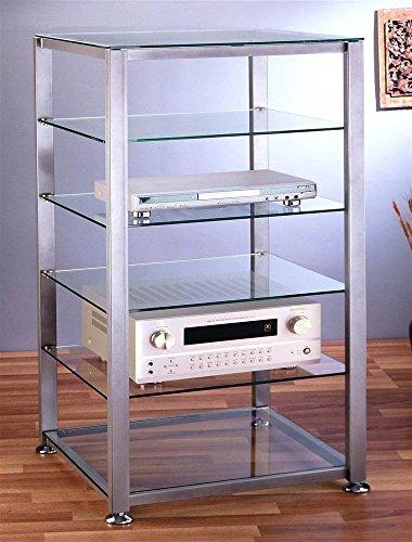 (EGR Series Audio Video Rack (Grey Silver))