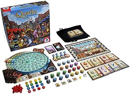 Juego de Mesa The Quacks of Quedlinburg. Incluye una única Bandeja Plegable para Jugar con el Juego: Amazon.es: Juguetes y juegos