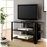 42 in. TV Stand in Black