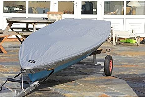 Blue Polyester Laser Sailboat Boat Hull Cover