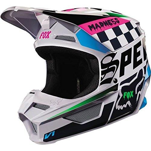2019 Fox Racing V1 Czar Men's Off-Road Motorcycle Helmet - Light Gray/Medium