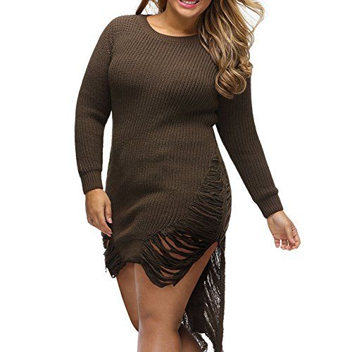 gerger-bo-ripped-knit-long-sleeves-sweaterbrownxl