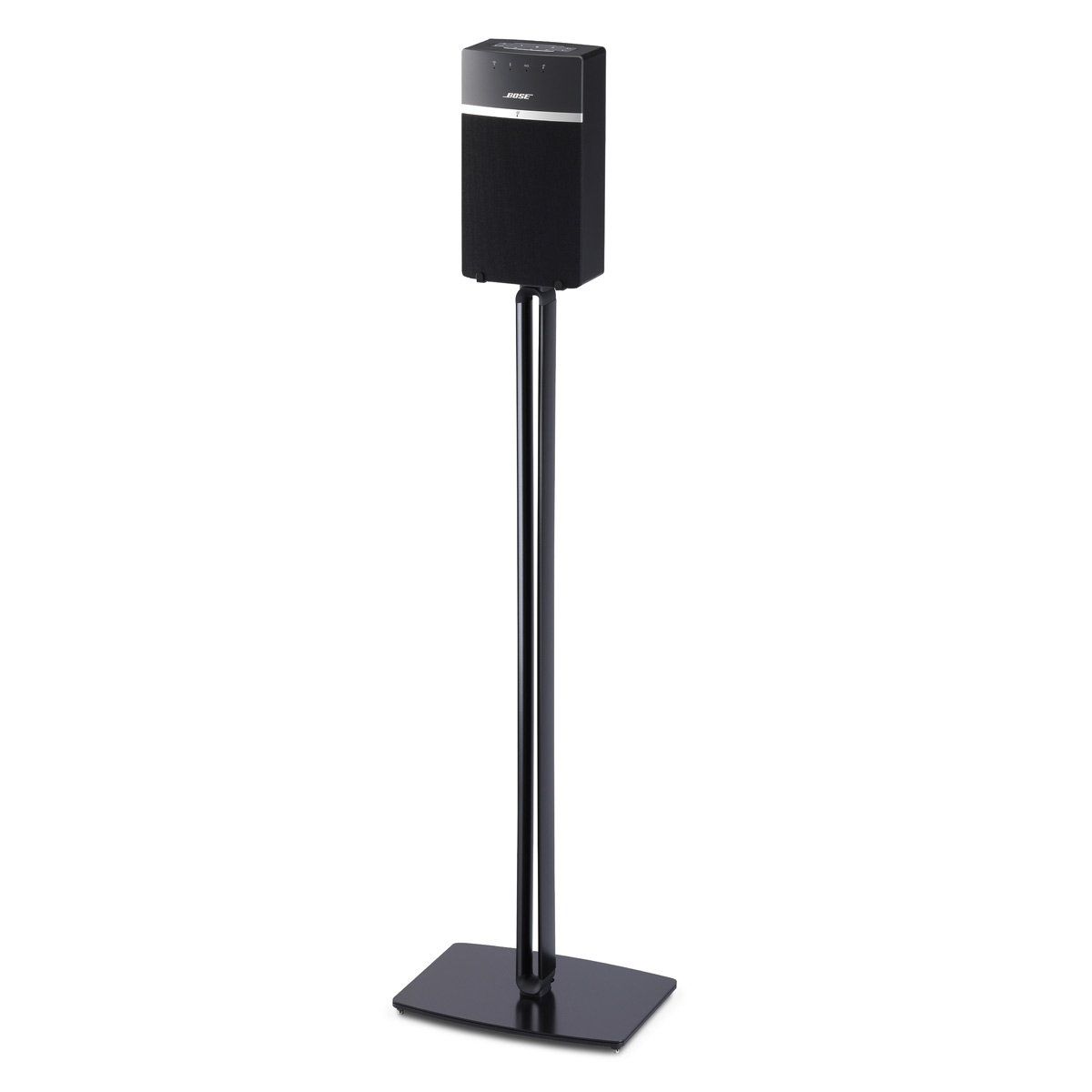 SoundXtra Floor Stand for Bose SoundTouch 10 - Single (Black) by SoundXtra