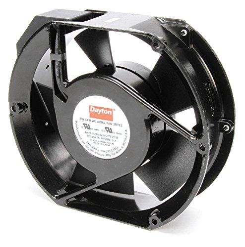 - Dayton 2RTE3 Axial Fan, 239 CFM, 115 V