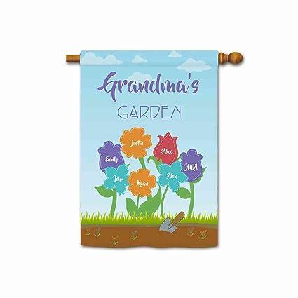 Amazon.com: kafepross Custom la abuela jardín para fuera ...